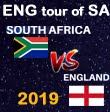 England tour of South Africa 2019-20