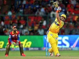 IPL 8: Chennai enter in final by beating Bangalore in close encounter