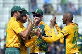 South Africa clinched the series with 38-runs win in the second T20.