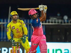 Sixes galore in Sharjah as RR beat CSK