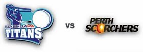 Titans vs Scorchers 1st Match